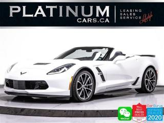 Used 2017 Chevrolet Corvette Grand Sport, CONVERTIBLE, 3LT, 460HP, NAV, HEATED for sale in Toronto, ON