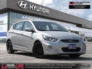 Used 2014 Hyundai Accent GLS  - Sunroof -  Bluetooth - $78 B/W for sale in Nepean, ON