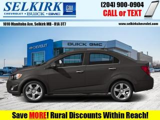 Used 2013 Chevrolet Sonic LT  *HEATED SEATS, LOW KMS* for sale in Selkirk, MB
