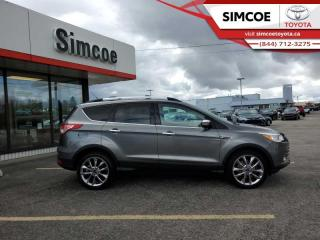 Used 2014 Ford Escape SE  Navigation - Bluetooth -  Heated Seats for sale in Simcoe, ON