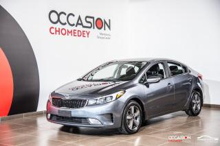 Used 2018 Kia Forte LX+CAMERA DE RECUL+SIEGES CHAUFFANTS+BLUETHOOTH for sale in Laval, QC