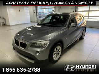 Used 2012 BMW X1 X-DRIVE + GARANTIE + TOIT + CUIR + WOW ! for sale in Drummondville, QC