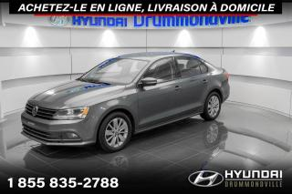 Used 2015 Volkswagen Jetta TDI + GARANTIE + CAMERA + MAGS + WOW !! for sale in Drummondville, QC