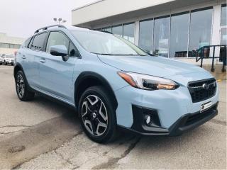 Used 2018 Subaru XV Crosstrek Limited CVT w-EyeSight,toit,cuir,gps for sale in Lévis, QC