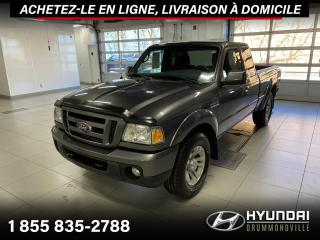 Used 2010 Ford Ranger SPORT + 4X4 + V6 + A/C + HITCH + MAGS + for sale in Drummondville, QC
