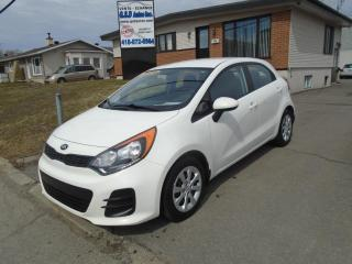 Used 2016 Kia Rio for sale in Ancienne Lorette, QC