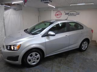 Used 2014 Chevrolet Sonic LS for sale in Ancienne Lorette, QC