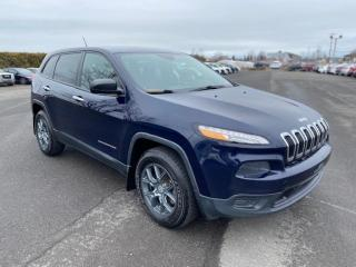 Used 2014 Jeep Cherokee SPORT 4X4 for sale in Pintendre, QC