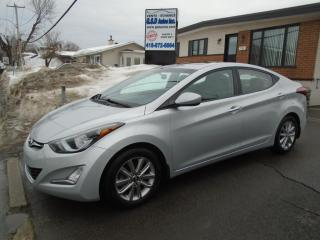 Used 2014 Hyundai Elantra GLS for sale in Ancienne Lorette, QC