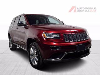 Used 2016 Jeep Grand Cherokee Summit AWD A/C Cuir Toit Pano GPS Caméra for sale in St-Hubert, QC