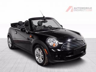 Used 2014 MINI Cooper Convertible CONVERTIBLE AIR CLIMATISE MAGS for sale in St-Hubert, QC