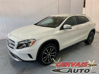 Used 2016 Mercedes-Benz GLA GLA 250 4MATIC Cuir GPS Caméra Mags *Traction intégrale* for sale in Trois-Rivières, QC