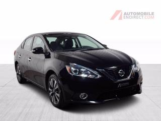 Used 2017 Nissan Sentra SL A/C Mags Cuir Toit GPS Sièges Chauffants Caméra for sale in St-Hubert, QC