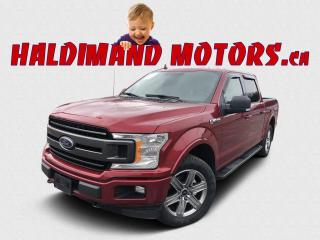 Used 2018 Ford F-150 XLT SPORT CREW FX4 4WD for sale in Cayuga, ON