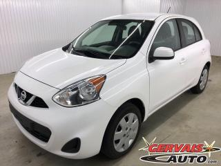 Used 2017 Nissan Micra SV Bluetooth A/C *Transmission Automatique* for sale in Trois-Rivières, QC