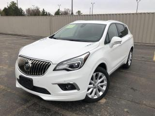 Used 2018 Buick Envision Premium II AWD for sale in Cayuga, ON