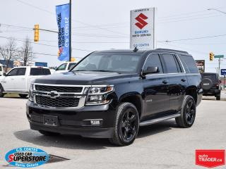 Used 2018 Chevrolet Tahoe LT Midnight Edition 4x4 ~7 Passenger ~Cam ~Leather for sale in Barrie, ON