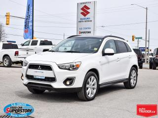 Used 2014 Mitsubishi RVR GT AWD ~Leather ~Backup Camera ~Panoramic Moonroof for sale in Barrie, ON