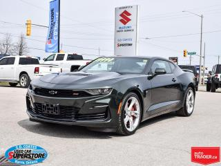 Used 2020 Chevrolet Camaro 2SS ~455HP 6.2 V8 ~10-Speed ~Brembos ~Recaro Seats for sale in Barrie, ON