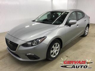 Used 2016 Mazda MAZDA3 GX GPS BLUETOOTH CAMÉRA *Bas Kilométrage* for sale in Shawinigan, QC