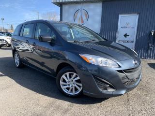 Used 2012 Mazda MAZDA5 ***GS,6 PLACES,A/C,MAGS,AUBAINE*** for sale in Longueuil, QC