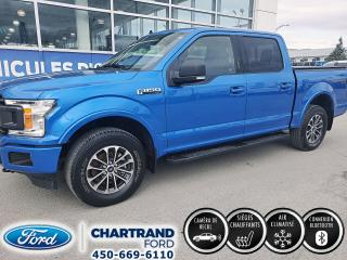 Used 2019 Ford F-150 XLT cabine SuperCrew 4RM for sale in Laval, QC