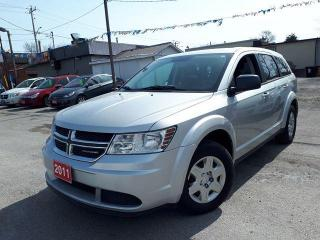 Used 2011 Dodge Journey Canada Value Pkg,Certified for sale in Oshawa, ON