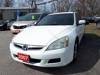 Used 2007 Honda Accord Sdn Certified for sale in Oshawa, ON
