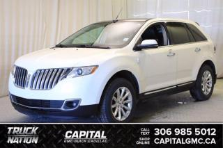 Used 2012 Lincoln MKX AWD*LEATHER*SUNROOF*NAV* for sale in Regina, SK