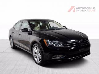 Used 2016 Volkswagen Passat COMFORTLINE CUIRETTE TOIT MAGS for sale in Île-Perrot, QC