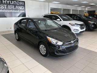 Used 2016 Hyundai Accent GL AUTO A/C BT CRUISE SIÈGES CHAUFFANTS for sale in Dorval, QC