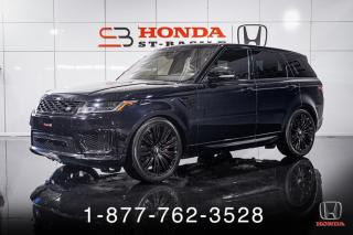 Used 2018 Land Rover Range Rover Sport AUTOBIOGRAPHY + V8 + GARANTIE + RARE + W for sale in St-Basile-le-Grand, QC