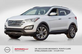 Used 2014 Hyundai Santa Fe Sport Limited NAVIGATION / TOIT PANORAMIQUE / CUIR / MAGS 19'' / CAMERA for sale in Montréal, QC