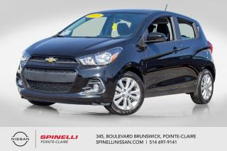 Used 2018 Chevrolet Spark 1LT CAMERA DE RECUL / BLUETOOTH / JAMAIS ACCIDENTÉ / A/C / GROUPE ELECTRIQUE for sale in Montréal, QC