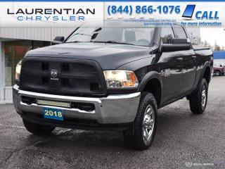 Used 2018 RAM 2500 ST!! CREW CAB!! BACKUP CAMERA!! 4X4!! for sale in Sudbury, ON