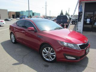 Used 2013 Kia Optima EX $8,495+HST+LIC FEE / CLEAN CARFAX / CERTIFIED for sale in North York, ON