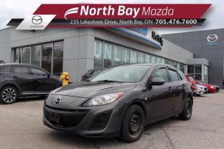 Used 2010 Mazda MAZDA3 GX AS IS - Manual Transmission for sale in North Bay, ON