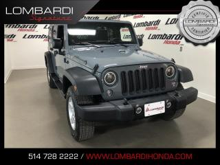 Used 2014 Jeep Wrangler UNLIMITED SPORT|4WD|TOIT DUR| for sale in Montréal, QC
