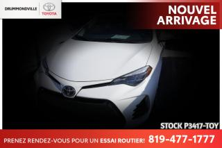 Used 2017 Toyota Corolla Bas Kilo / SE for sale in Drummondville, QC