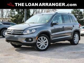 Used 2015 Volkswagen Tiguan for sale in Barrie, ON