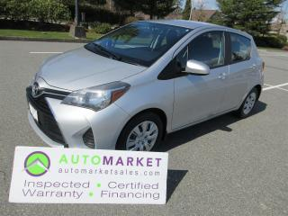 Used 2015 Toyota Yaris AUTO, LOCAL, NO ACCIDENT, INSWP, WARR, FINANCE, BCAA MEMBERSHIP for sale in Surrey, BC