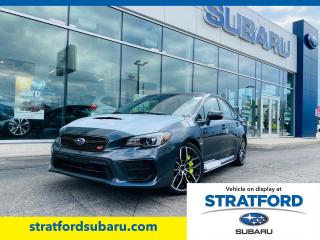 New 2021 Subaru WRX Sport-Tech w/ Wing Spoiler for sale in Stratford, ON