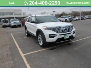 New 2021 Ford Explorer Platinum for sale in Brandon, MB