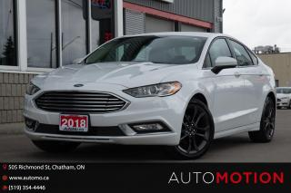 Used 2018 Ford Fusion SE LOW KMS! BACK UP CAM BLACK RIMS for sale in Chatham, ON