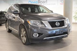Used 2014 Nissan Pathfinder Platinum V6 4x4 at for sale in Richmond, BC