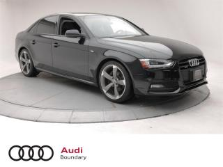 Used 2014 Audi A4 2.0 8sp Tiptronic Technik for sale in Burnaby, BC