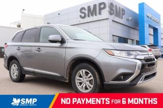 Used 2020 Mitsubishi Outlander ES - AWD, Heated Seats, 3rd Row Seat, 7 Passenger, Back Up Camera for sale in Saskatoon, SK
