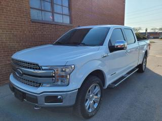 Used 2019 Ford F-150 Lariat- Diesel-LONG BOX for sale in Oakville, ON