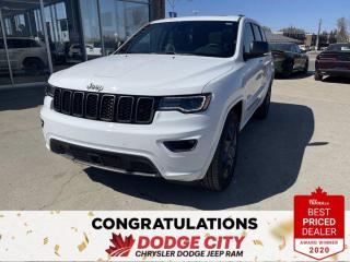 New 2021 Jeep Grand Cherokee 80th Anniversary Edition-4WD,Nav, Htd.Seats, R/St for sale in Saskatoon, SK