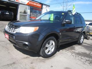 Used 2012 Subaru Forester 2.5X for sale in Gloucester, ON